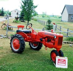 Tractor for sale by Larry the Biker