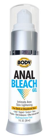 Anal Bleach Gel is a super concentrated intimate area skin lightening gel. It is formulated to help improve the appearance of uneven skin tone and diminish discolored areas of the skin. Ideal for Anal, Vaginal, Penis, Scrotum, Nipples, Dark Underarms, and all other intimate area skin lightening needs.