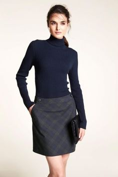 Buy Rib Roll Neck Sweater from the Next UK online shop