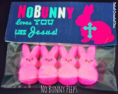 Printable bag toppers....no Peeps...maybe some Reeses chocolate bunnies.