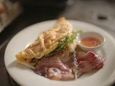 Plaaskombuis 3 - Aunt Mill se rysstew Omelet, Kos, Aunt, Food To Make, Sandwiches, Chicken, Breakfast, Recipes, Omelette