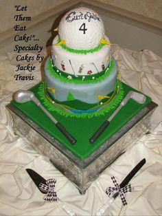 groom's golf cake