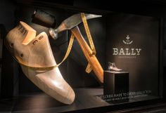 The finished product. Bally Sculpted Window Display   Made To Order, Harrods by Millington Associates.