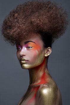 La maquilladora del futuro: Los maquillajes más increíbles del mundo se ríen del…  Nos encanta :) We Love :)