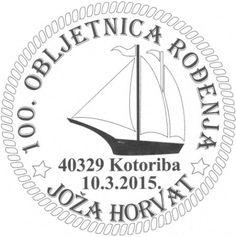 Ein Segelschiff ziert den Sonderstempel zum Gedenken an den Schriftsteller Joža Horvat, dessen 100. Geburtstag in der nächsten Woche gefeiert wird. Horvat verfasste eine Vielzahl von Essays, Dramen...
