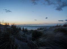 Sunset at Rockanje beach