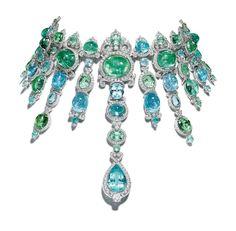 Gem Palace - Giampiero Bodino Barocco Necklacehttp://www.wmagazine.com/fashion/accessories/2014/09/biennale-des-antiquaires-paris-jewelry/photos/slide/6