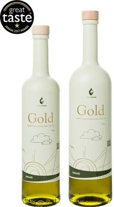 Gold Extra Virgin Olive Oil from Greece.