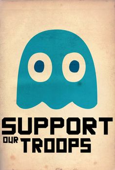 Pac Man Propaganda Posters