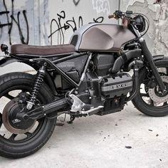 1985 BMW K100 - Naked bike / Cafe project
