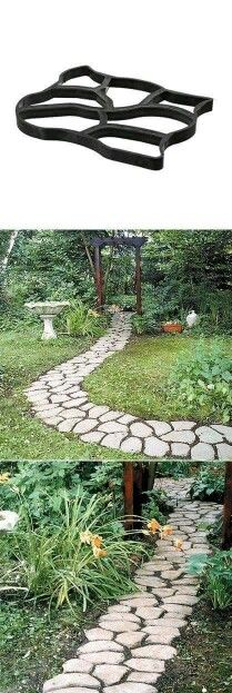 to make stepping stones How to make stepping stones ~ we're SO doing this once we get the new front porch built!How to make stepping stones ~ we're SO doing this once we get the new front porch built! Lawn And Garden, Garden Paths, Garden Art, Outdoor Projects, Garden Projects, Garden Tools, Garden Ideas, Diy Retaining Wall, Dream Garden
