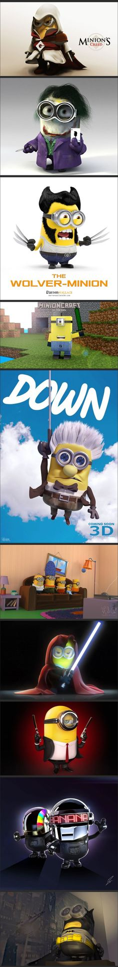 Minions movie characters ...