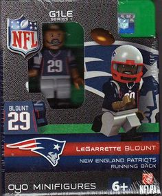 Oyo NFL New England Patriots Football Building Brick Minifigure LeGarrette Blount >>> Check this awesome product by going to the link at the image.Note:It is affiliate link to Amazon.