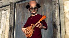 Learn to play mandolin online for free.  #learn #mandolin #online  #cartoon