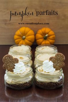 Pumpkin Parfait Recipe   Easy pumpkin parfait recipe that goes together in just a few minutes and is delish!