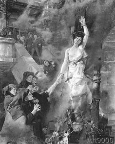 Albert Von Keller - Burning of German Witch The Last Witch, Season Of The Witch, Witch History, Maleficarum, Salem Witch Trials, Witch Tattoo, Occult Art, Vintage Witch, Witch Art