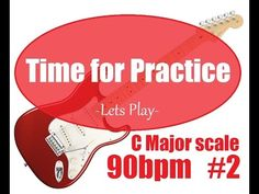 C major scale Guitar Backing Track 90 bpm Major Scale, C Major, Backing Tracks, Lets Play, Guitar, Let It Be, Friends, Videos, Amigos