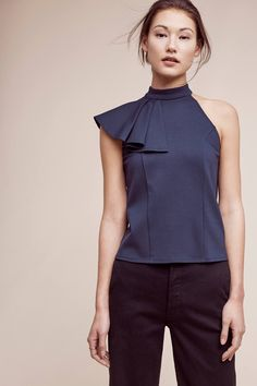 Slide View: 2: Ruffled Nobility Top