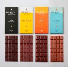 chocolate packaging Masa via Chuah Dieline
