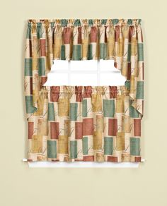 Tranquility Printed Tier Curtain | Curtain U0026 Bath Outlet
