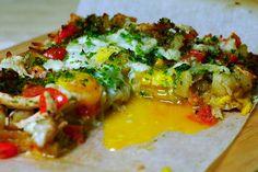 "Leftover ""Pizza"" #bread_crust #dinner"