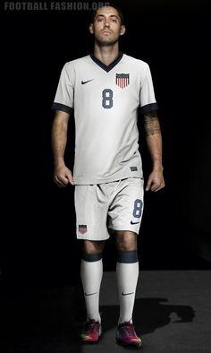 USA Nike 2013 Centennial Home Soccer Jersey / Camiseta de Futbol / Football Kit