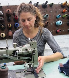 The Inner Workings Of Corrente Bags - Journal - Corrente Handbags | Leather Handbags and Purses Made Locally In NYC, USA designer Corie Humble at work.