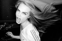 Cara Delevingne is just too cool for a model.