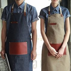 Art Jean Apron for Coffee Bar or Painting Artist Cook Carpenter Weeding Apron or ..... DO WHAT YOU WANT
