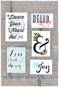 5 Cool Free Printables for Project Life