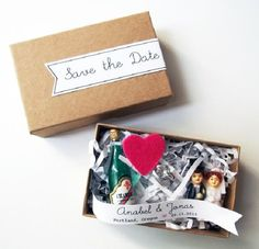 24 Creative DIY Save the Dates Your Guests Will Love via Brit + Co