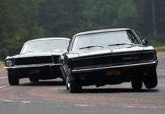 68 Mustang GT v 68 C
