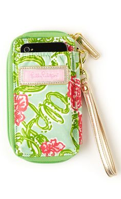 ID Wristlet + phone case
