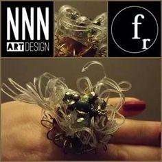 """Anello """"Ciuffo Molecolare"""" Indossato e nel dettaglio NNN design &Fashion Resource"""