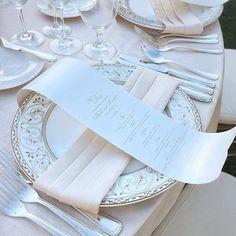 A closer look 😍 #regram #monarchweddings #whimsique #stationeries #menues…