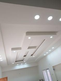 Plaster Ceiling Design, Gypsum Ceiling Design, House Ceiling Design, Ceiling Design Living Room, False Ceiling Living Room, Bedroom False Ceiling Design, Ceiling Light Design, Home Room Design, Wall Design