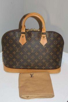 Louis Vuitton Alma Monogram Hobo Bag $443