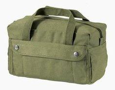 New Heavyweight Cotton Canvas Gi Style Olive Drab Mechanics Tool Utility Bag   eBay
