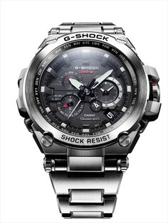 we bet you didn't think a G-SHOCK watch would go with your tuxe event. actually, you are right - that's until the arrival of the G-SHOCK Metal Twisted MT-G Watches. Dream Watches, Luxury Watches, Cool Watches, Watches For Men, Men's Watches, Field Watches, Casio G Shock Watches, G Watch, Man Stuff