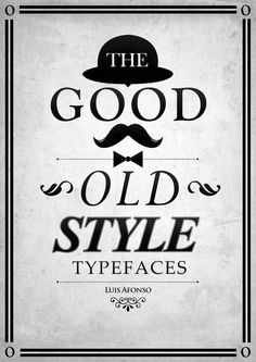 Good oldstyle