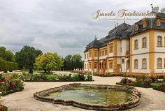 Schloss und Rokokogarten in Veitshöchheim