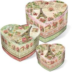 Unique Heart  Boxes