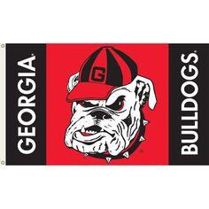 georgia bulldogs | georgia bulldogs logo d team flag georgia bulldogs 3ft x 5ft team flag ...