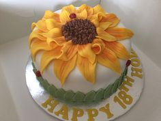 Sunflower haven, by Culross Cake Co