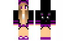minecraft skin Cat-Hoodie Check out our YouTube : https://www.youtube.com/user/sexypurpleunicorn