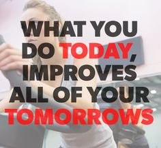 Your tomorrow-self will thank your today-self for the hard work! #Quotes #Motivation #GetFit