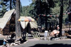 stuff from the park: Santa's Village Lake Arrowhead need the fiberglass pagoda umbrella Pagoda Umbrella, Santa Cruz Mountains, Santa's Village, Santa Pictures, Abandoned Amusement Parks, Lake Arrowhead, Old Advertisements, Beautiful Park, Los Angeles California