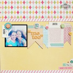 """Me Too"" *Studio Calico Elmwood Park kit* - Scrapbook.com"