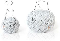 Kumeko. Knotty Cushion