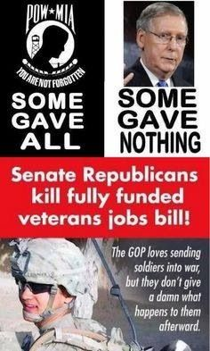 Some gave all, some gave nothing.